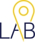 le LAB de l'ORIENTATION - Logo simplifié - Sans fond - Texte bleu