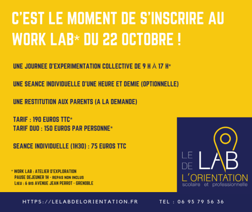 Work lab du 23 octobre